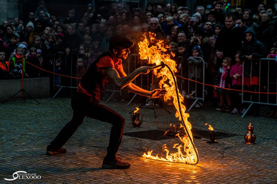 trouwfeest vuur